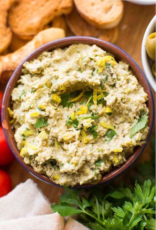 Roasted Fennel & Green Olive Tapenade