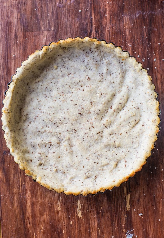 Coconut Flour Pie Crust (Egg Free)