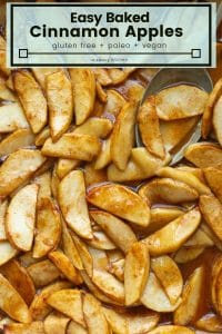 baked cinnamon apples pin graphic.