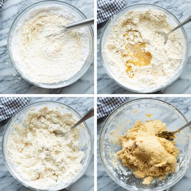 gluten free cinnamon rolls collage