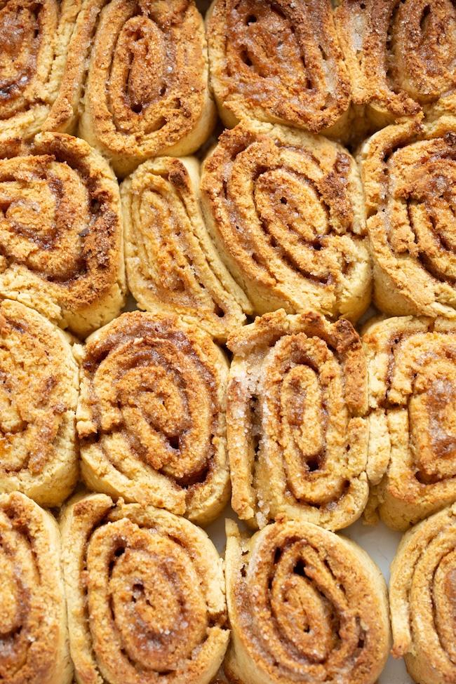 gluten free cinnamon up close