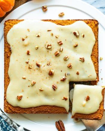 Paleo Gluten Free Pumpkin Cake