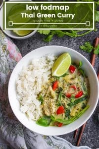 low fodmap thai green curry pin