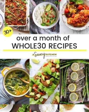 Over a Month of Whole30 Recipes