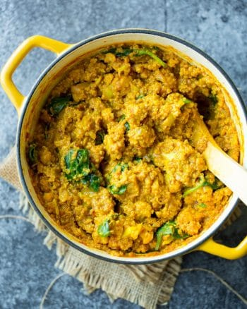 Golden Cauliflower Quinoa Curry