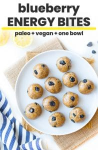 paleo energy bites pin graphic