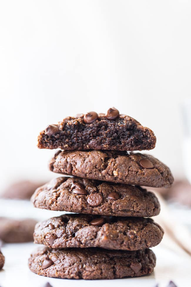 Flourless Chocolate Peanut Butter Cookies