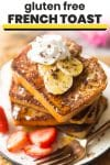 gluten free french toast pin graphic
