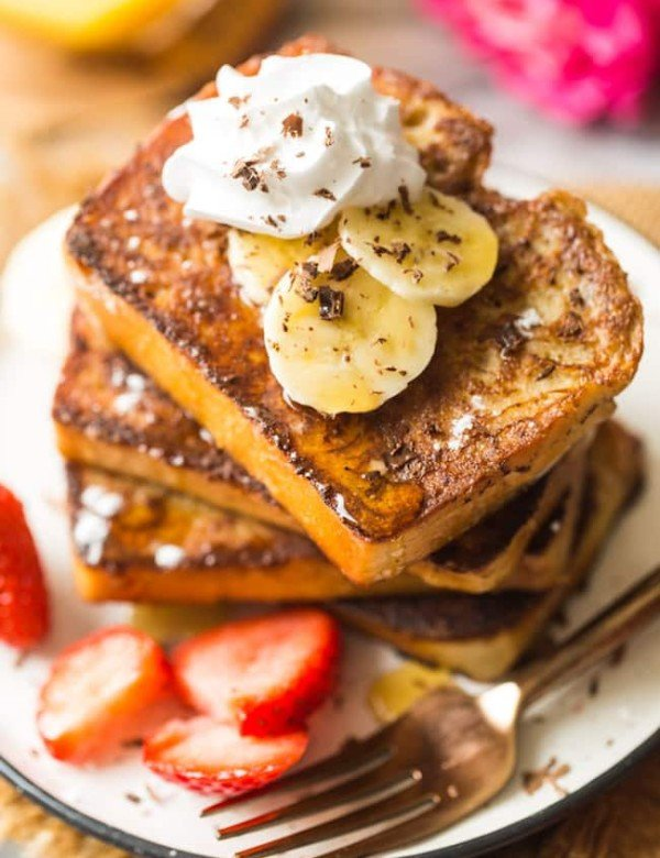 gluten free french toast stack