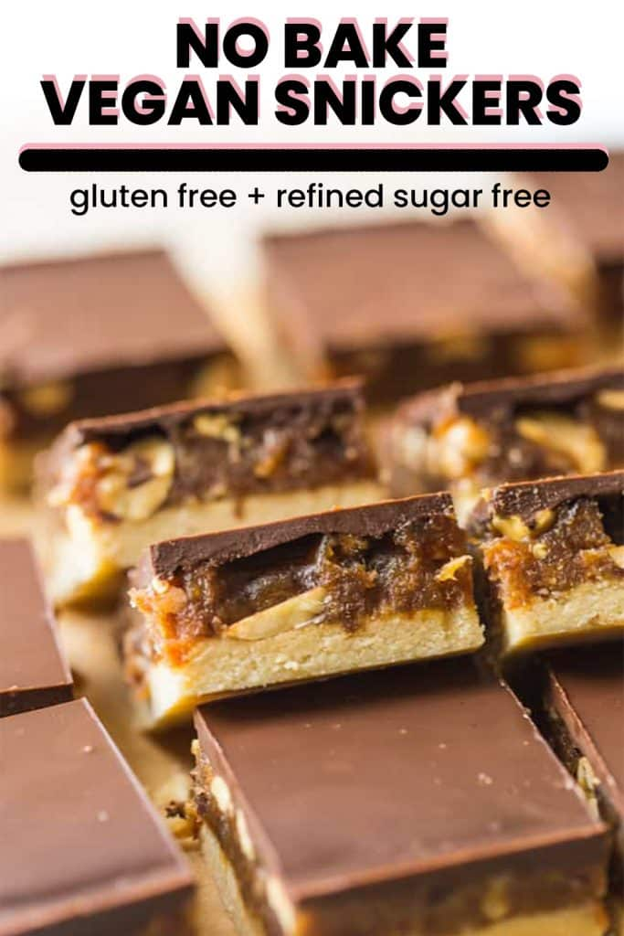 vegan snickers pin graphic