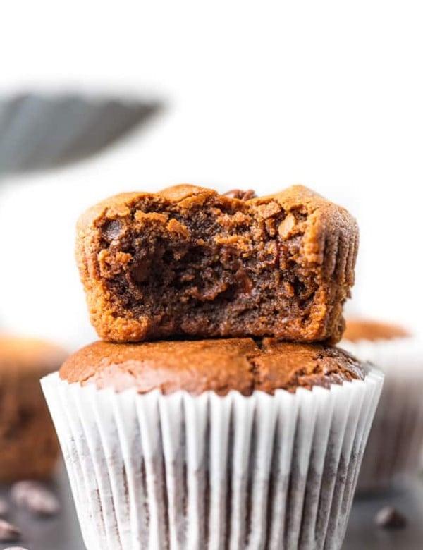 vegan chocolate muffins picture