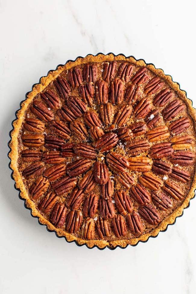 whole Gluten Free Pecan Pie