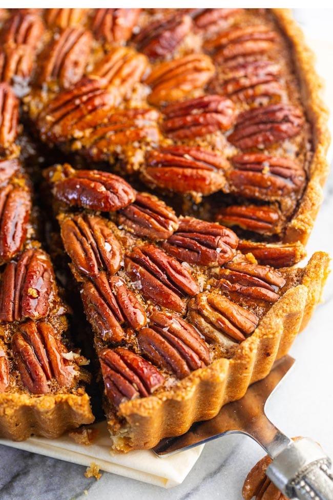 Gluten Free Pecan Pie (Paleo!)