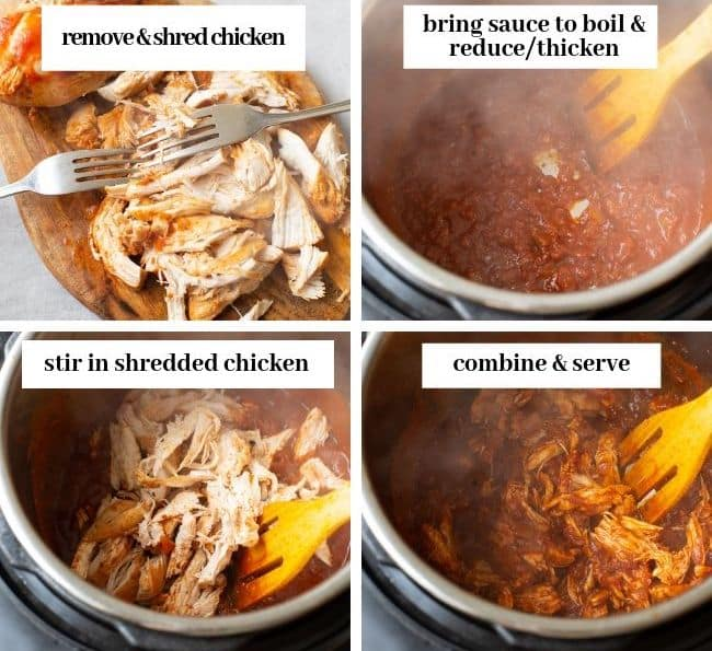 Instant Pot Tinga collage 2
