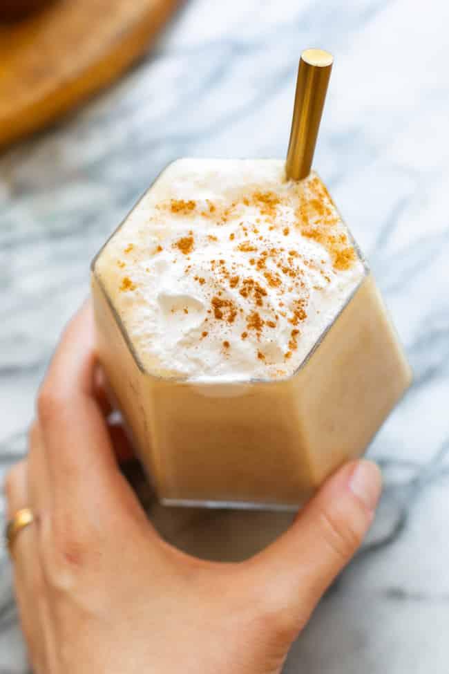 Healthy Chai Frappuccino