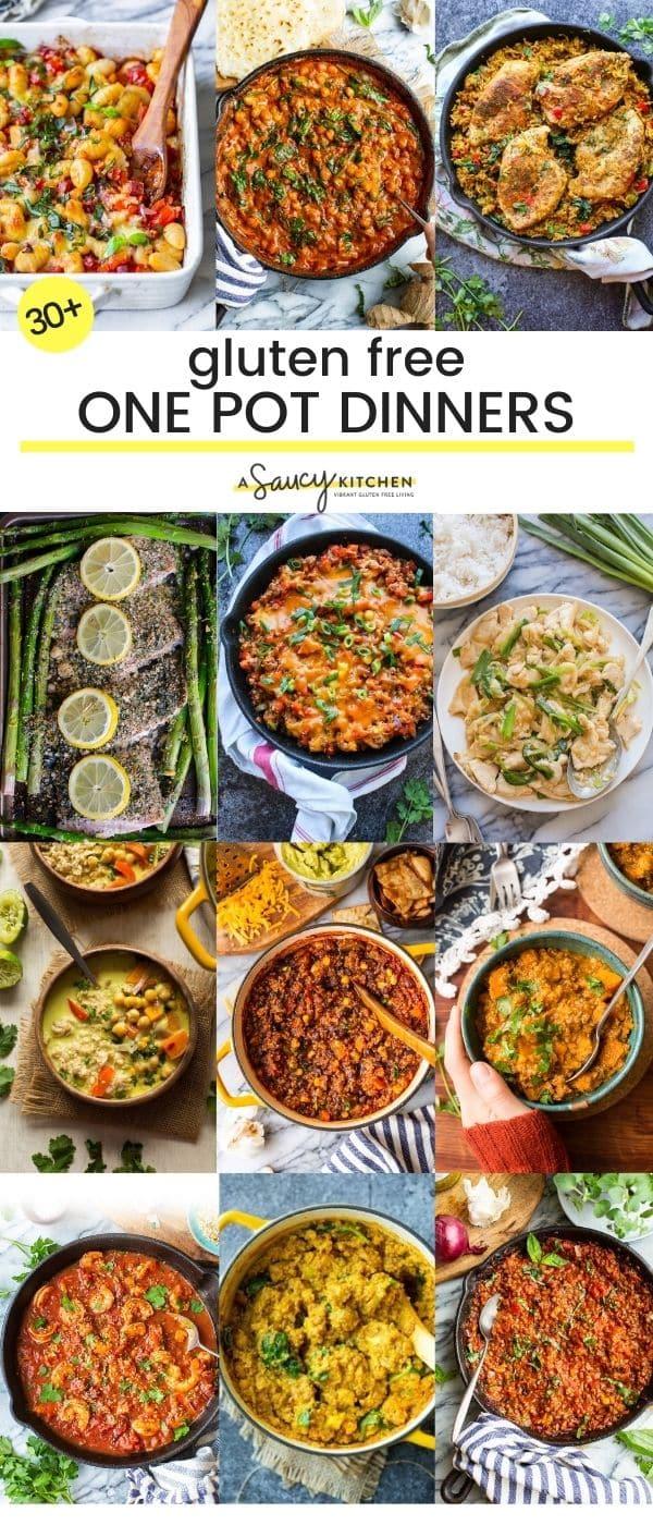 30 Gluten Free One Pot Dinner Recipes