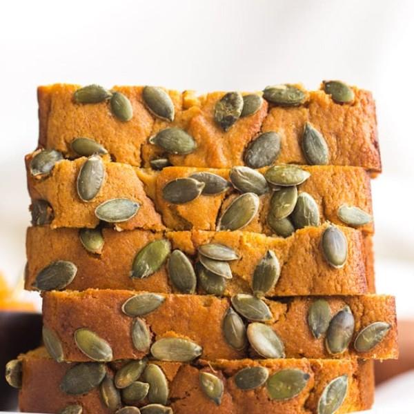 slice of Paleo-Sweet-Potato-Bread stacked
