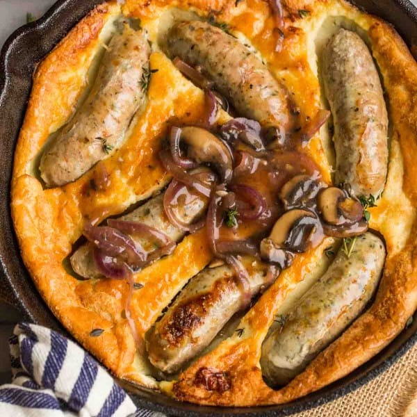 Paleo-Toad-in-the-Hole with onion gravy