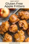 gluten free apple fritters pin graphic