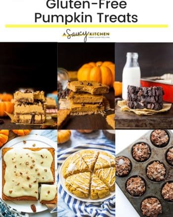 gluten free pumpkin recipes collage