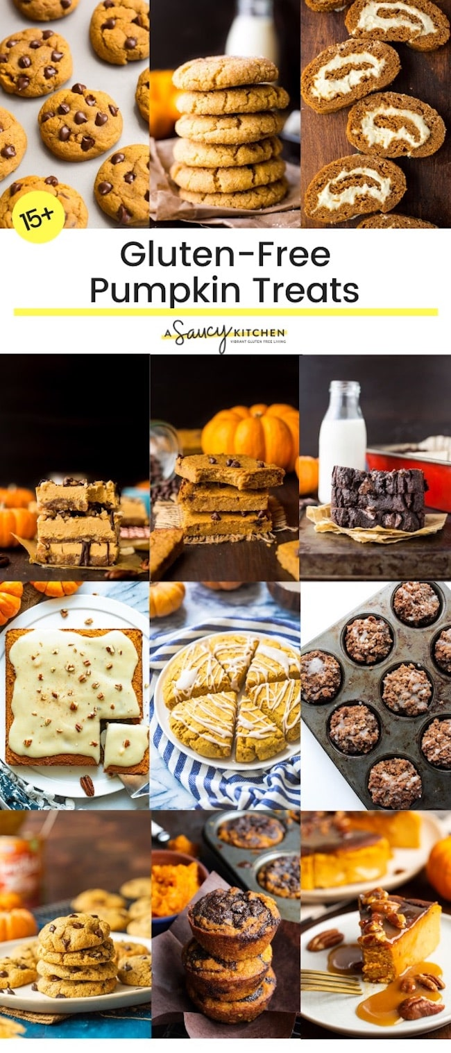 15+ Gluten-Free Pumpkin Recipes to Make this Fall