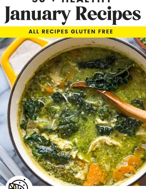 January recipes cover photo