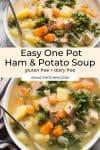dairy free ham and potato soup pin graphic