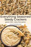Seedy Everything Seasoned Crackers pin graphic