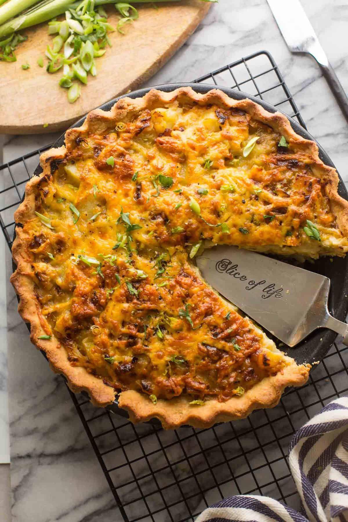 Gluten Free Homity Pie