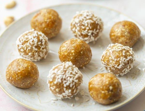 Ginger & Apricot Bliss Balls thumbnail