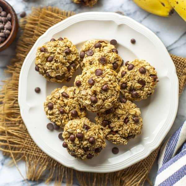 Oaty Banana Bread Cookies thumbnail