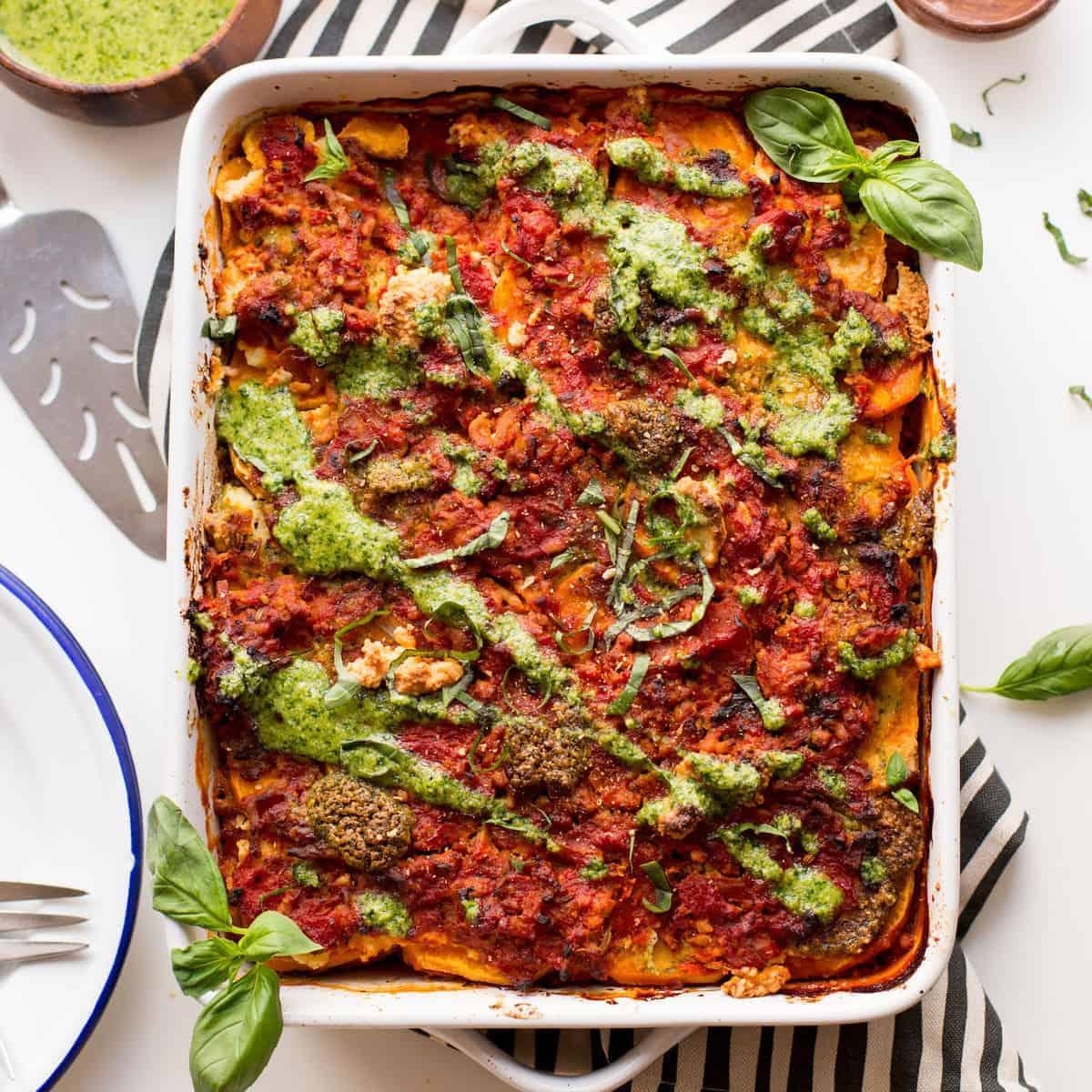 sweet potato lasagna thumbnail