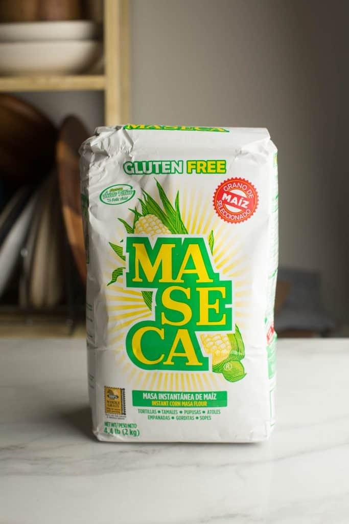 bag of masa harina