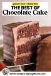the best gluten free chocolate cake slice