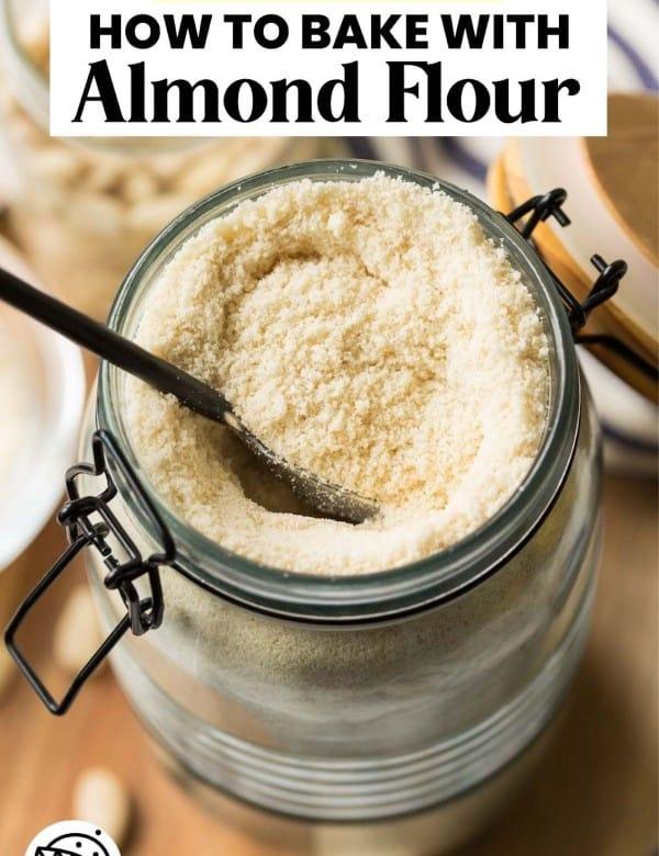 almond flour pin graphic