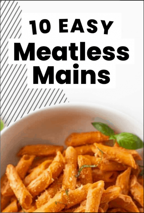 10 meatless mains ebook cover