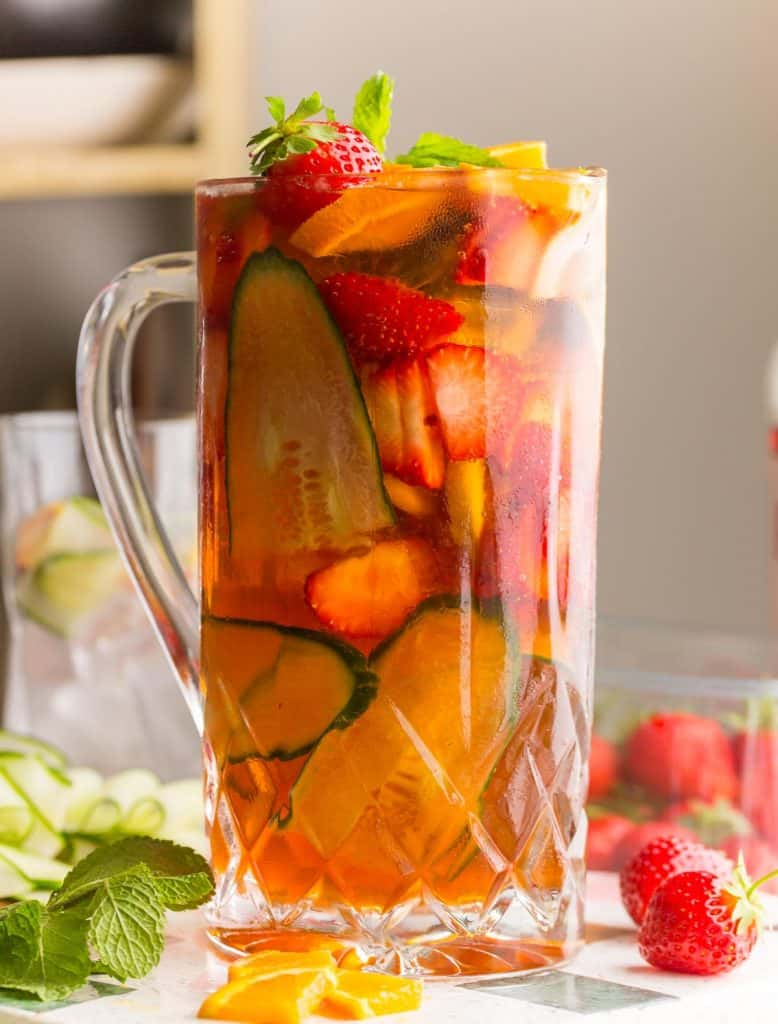 pitcher of pimm's