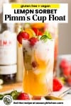 pimm's cup float pin graphic