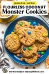 oat free monster cookies