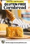 gluten free cornbread pin graphic