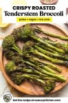 It also has long, tender stem and a sweet taste than normal broccoli pin graphic
